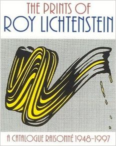 Roy Lichtenstein (after) - Book