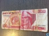 Mexique 100 Pesos 1996