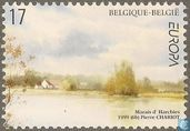 Postage Stamps - Belgium [BEL] - Europe - Nature reserves and parks