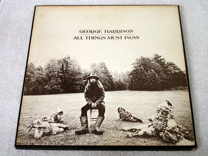 George Harrison All Things Must Pass 3lp Box Uk 1st