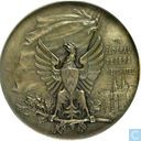 Switzerland  Silver Shooting Medal - Tir Federal, Neuchatel  1898