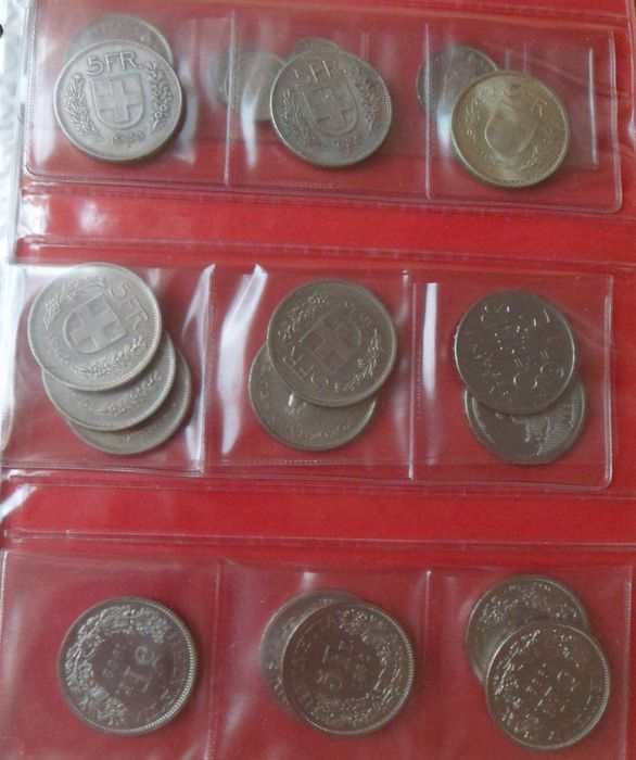 Europe - Approx. 362 coins 1950-1988, for the most part Greece, held in an album