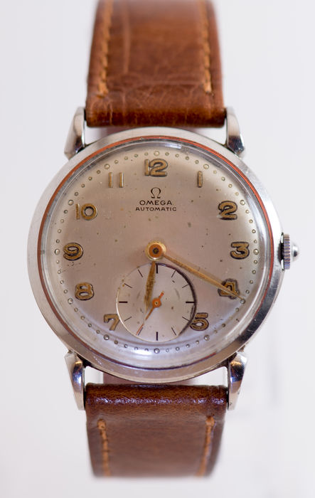 Omega automatic - Men's Wristwatch - 1940s