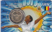 "Belgique 2 euro 2008 (coincard) ""60 years of the Universal Declaration of Human Rights"""