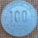 Central African Republic 100 francs 1985
