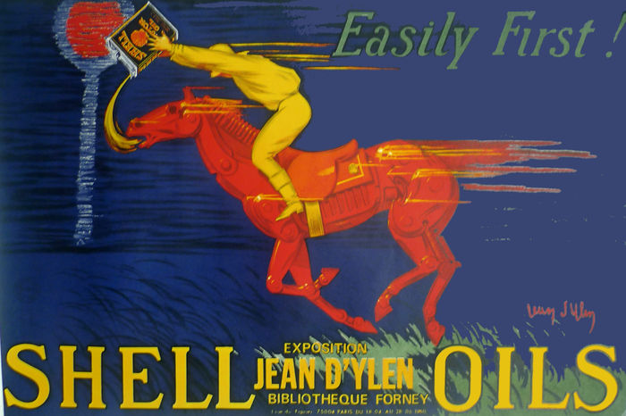 Jean d'ylen - Shell oils - 1980