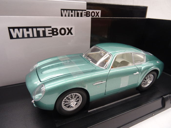 Whitebox - Schaal 1/18 - Aston Martin DB4 GT Zagato 1960