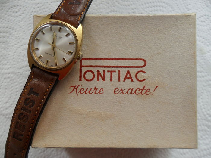 Pontiac simpatico - men's watch - 1960s.