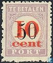 Overprinted new value