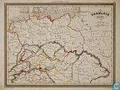 Carte Germanië Ancienne, Duitsland in Oudheid