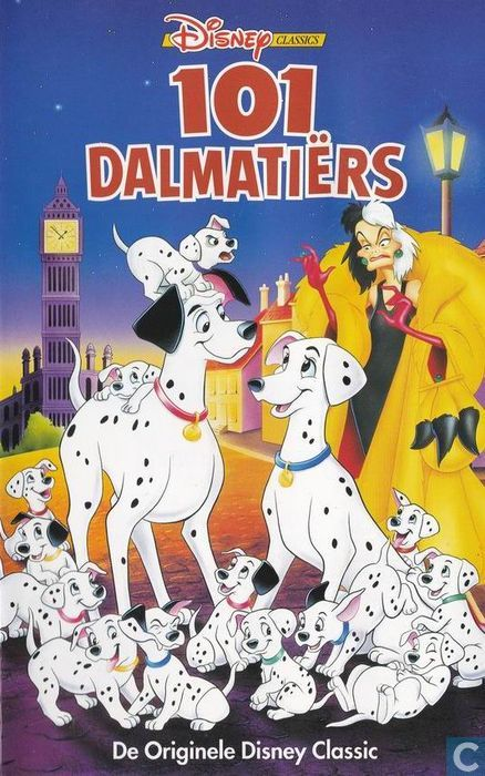 101 dalmatiërs - vhs video tape - catawiki