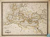 Carte Empire Romain, Romeinse Rijk