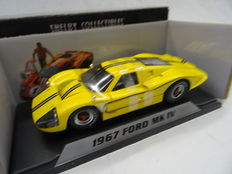 Shelby Collectibles - 1/18 Scale - Ford MK IV - 1967 - Colour: Yellow