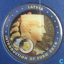 latvia luxury euro coinset