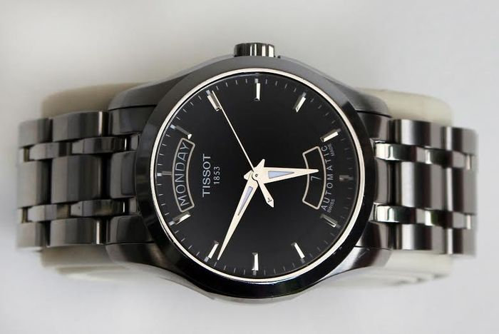 TISSOT COUTURIER Automatic - wristwatch - almost as good as new ... cce8811f30e