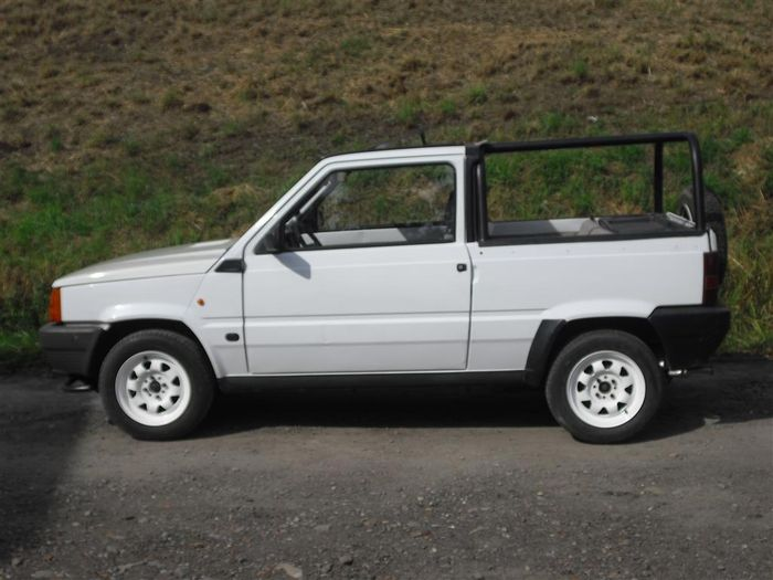 fiat panda convertible 1990 catawiki. Black Bedroom Furniture Sets. Home Design Ideas