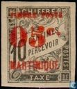 Digit, with overprint
