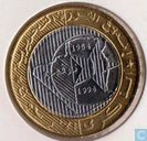 "Algerije 50 dinars 1994 ""40th Anniversary of Revolution"""