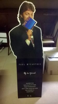 Paul McCartney - Off The Ground 1993 - promotion material display - very rare
