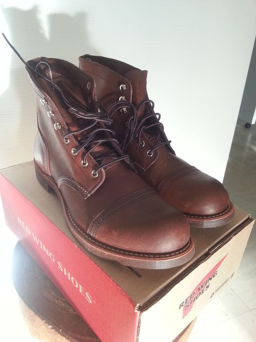 1e40cb92bf0 Red Wing Iron Ranger 8111 Amber Harness Boots (size: UK 9 EU 43.00 USA 10  D) - Catawiki