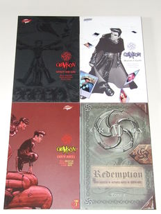 Crimson Volumes 1, 2, 3 & 4 (complete serie)  - 1st printing - 4x TPB/sc (1999/2001)