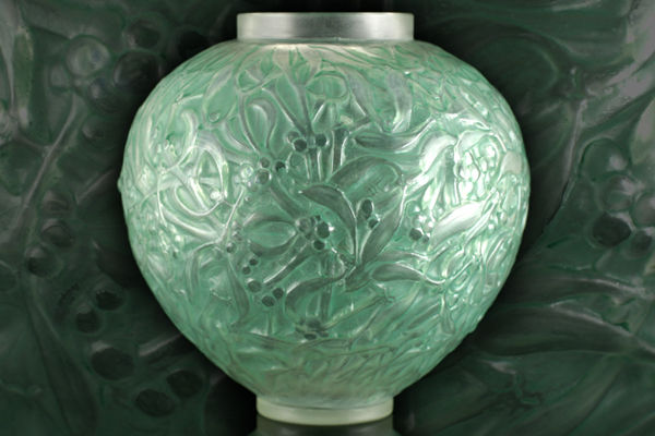 Ren Lalique Vase Gu With Soft Green Patina Catawiki