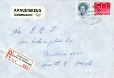 The Netherlands – 7,000 R-letters with registered post strips