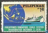 Cable system between the Philipines and Singapore