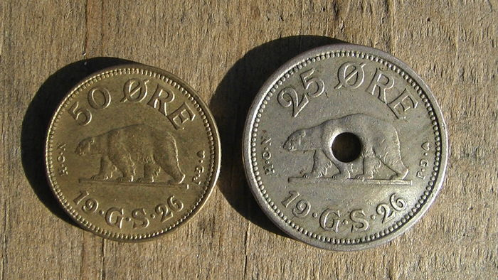 Greenland - 25 and 50 Ore 1926