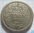 Coins - the Netherlands - Netherlands 25 cent 1917