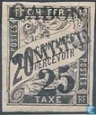 Port stamps with overprint