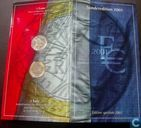 "France mint set 2001 ""introduction of the Euro '"