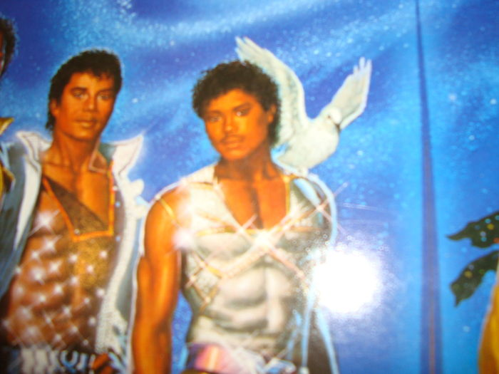 The Jacksons - Michael Jackson - Victory LP with Dove Vinyl Cover ...