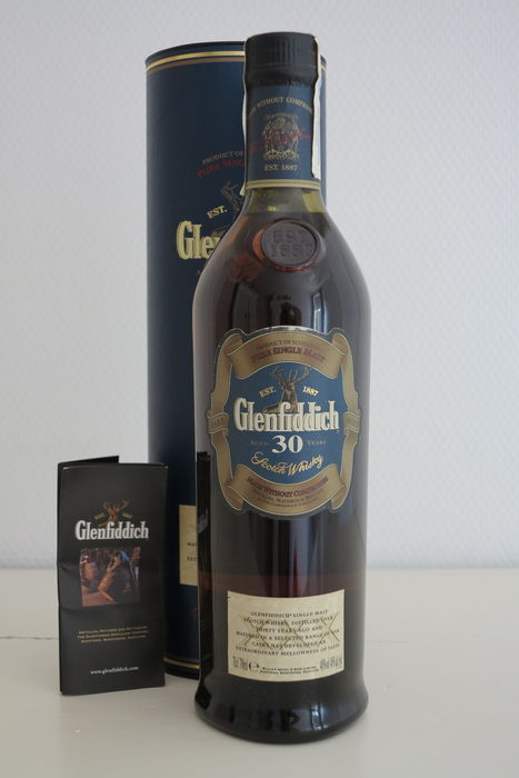9444467e57c Glenfiddich 30 year old - old version