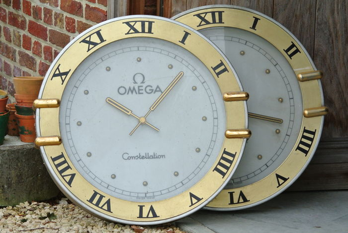 2 giant OMEGA Constellation - 1980