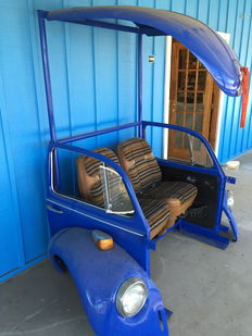 Volkswagen beetle bench Made from real car parts