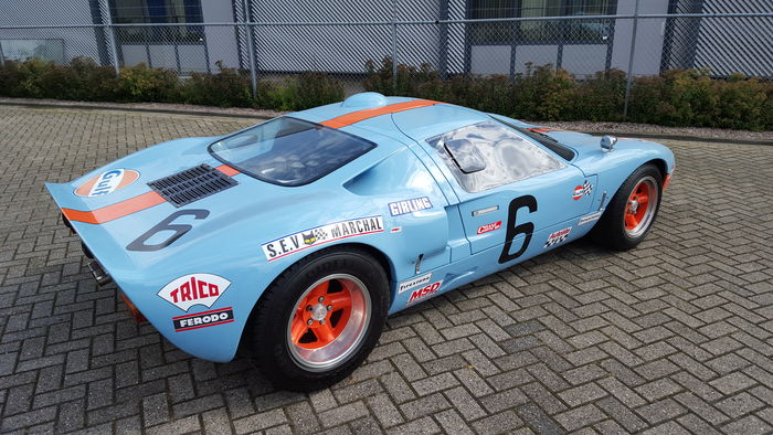 Exceptional Ford Gt Gulf Replica