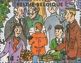 Timbres-poste - Belgique [BEL] - Enfants et grands-parents