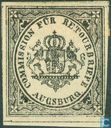 Return Stamps Augsburg - Weapon