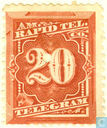 American Rapid Telegraph Company Stamp (20)