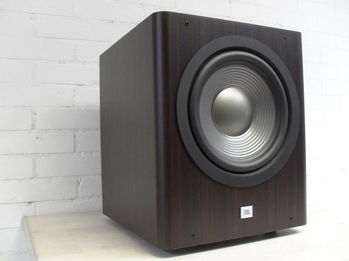 JBL Sub 250 Active Subwoofer in stylish Espresso edition