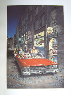 Gilbert Shelton / Pic - Not quite dead (signed) - ca. 1980