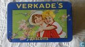 verkade's biscuits moeder en  kind