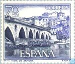 Roman bridge in Zamora
