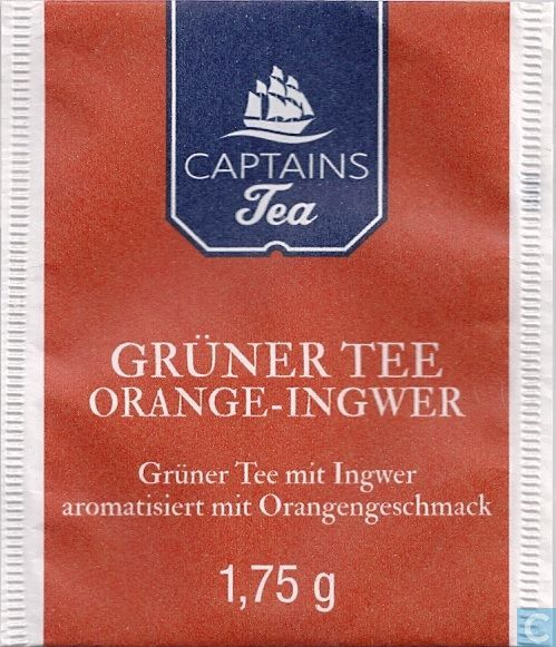 gr ner tee orange ingwer captains tea catawiki. Black Bedroom Furniture Sets. Home Design Ideas