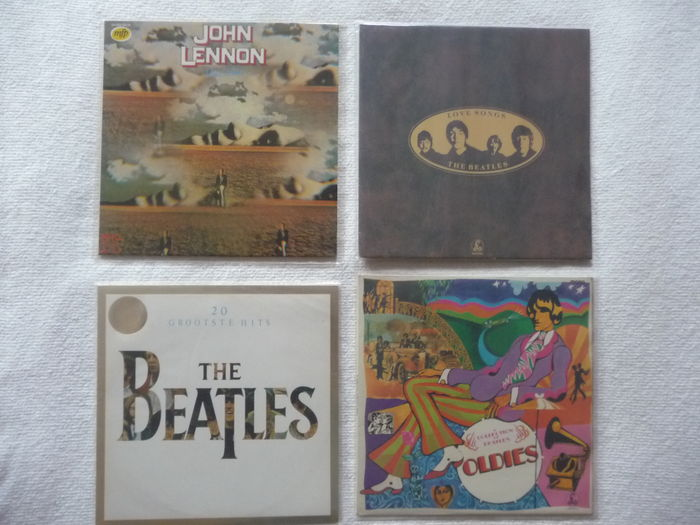 Lot The Beatles 3 Albums On Parlophone And John Lennon Catawiki