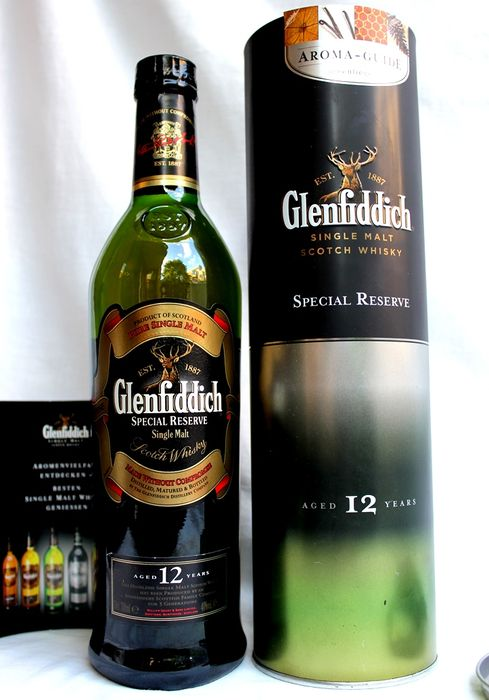 Glenfiddich Special Reserve, aged 12 years, Pure Single