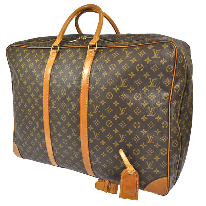 louis vuitton sirius 65 vintage reis weekend tas. Black Bedroom Furniture Sets. Home Design Ideas