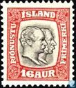Postage Stamps - Iceland - Kings Christian IX and Frederick VIII