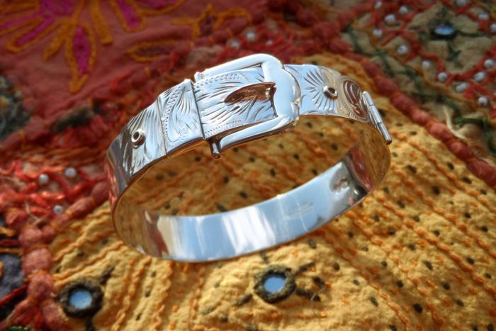 Sterling Silver Buckle Bracelet, Excalibur Jewellery Collection